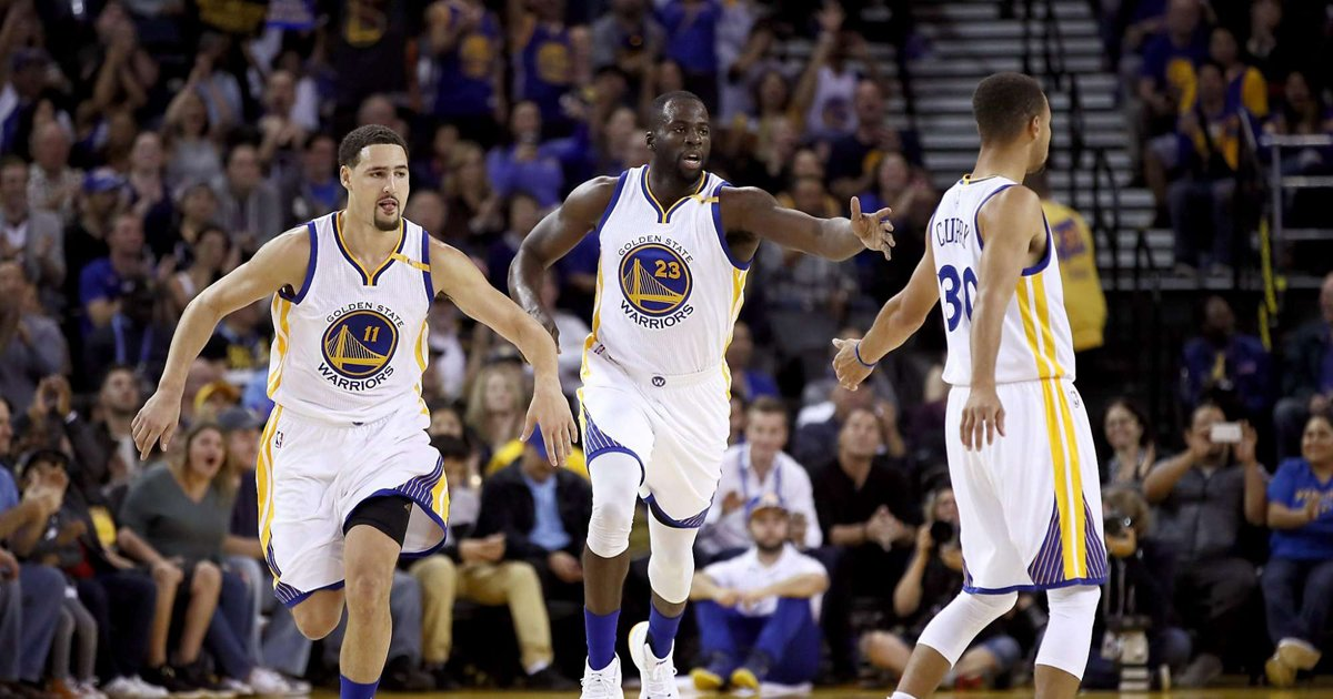 Warriors begin another run at history, this time with a Big 4 via @Con_Chron
