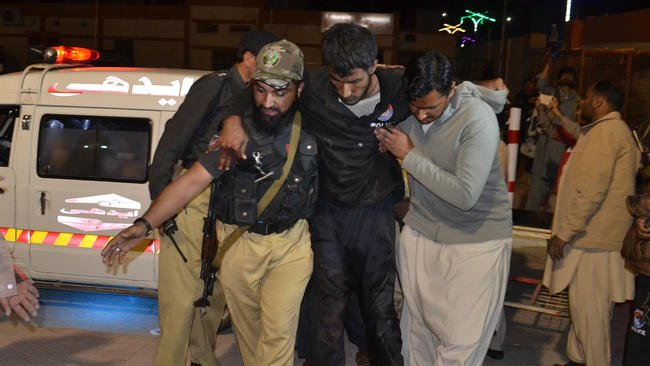 At least 41 dead after gunmen attack police training center in Pakistan
