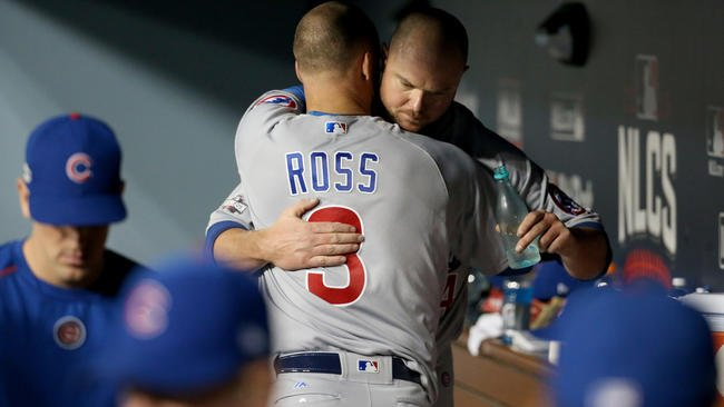 David Ross-Jon Lester bond began by chance in Boston, writes @ChiTribSkrbina