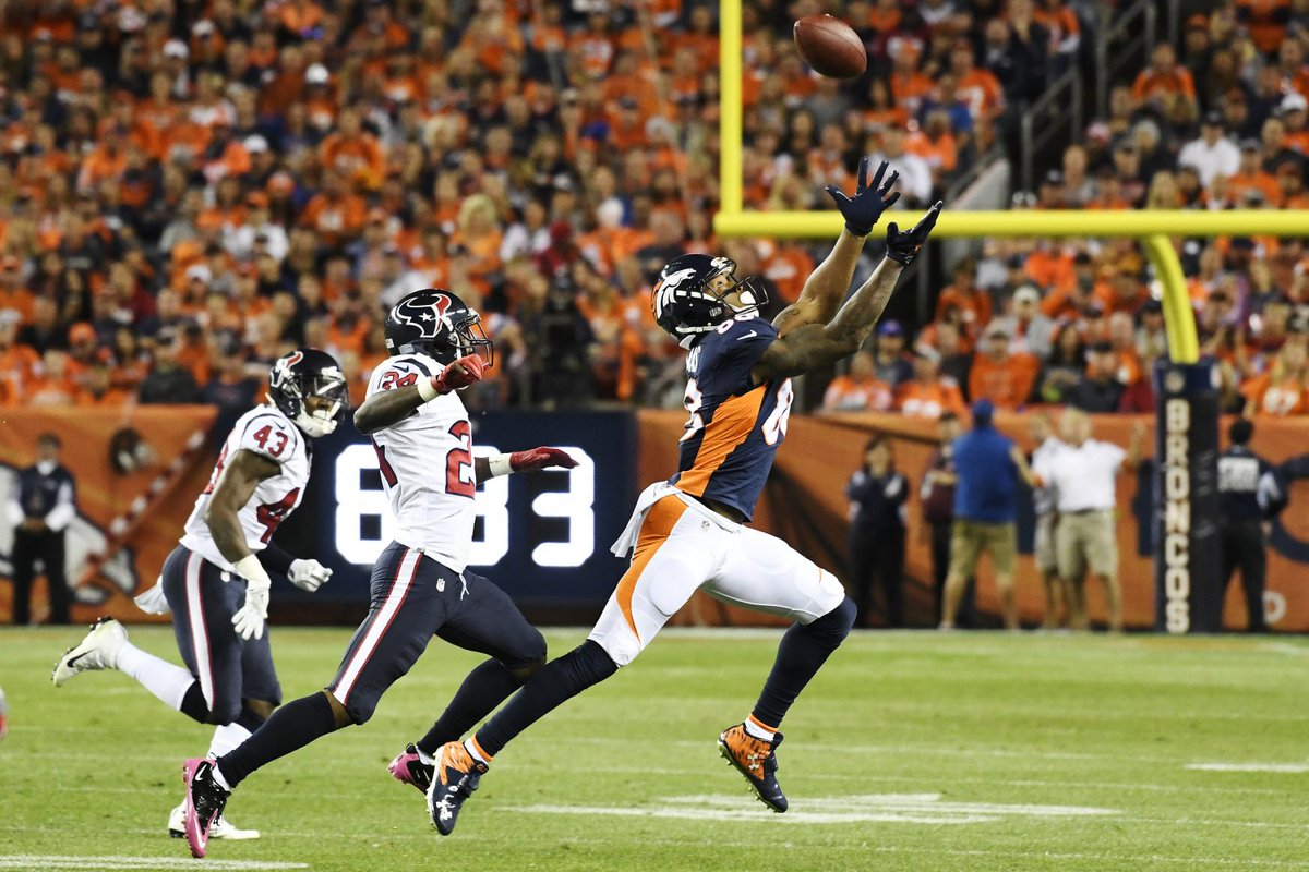 Broncos Thomas With NFL-Best Touchdown Mark