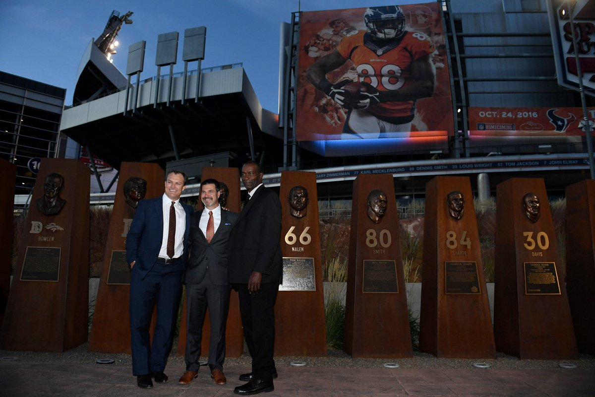 3 Broncos Players Inducted Into Ring Of Fame