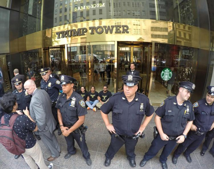 Trump Tower presents NYPD with big security challenge should @realDonaldTrump win presidency