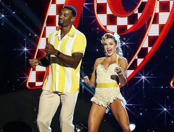 'Dancing with the Stars' goes retro; @calvinjohnsonjr, @kramergirl safe another week