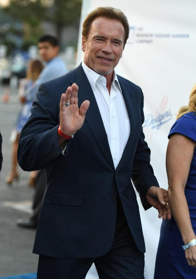 Arnold @Schwarzenegger says he would have run for President this year if he could