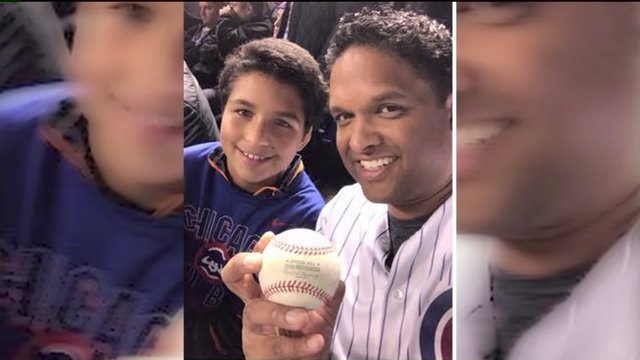 Cubs fans swap home run ball for World Series tickets