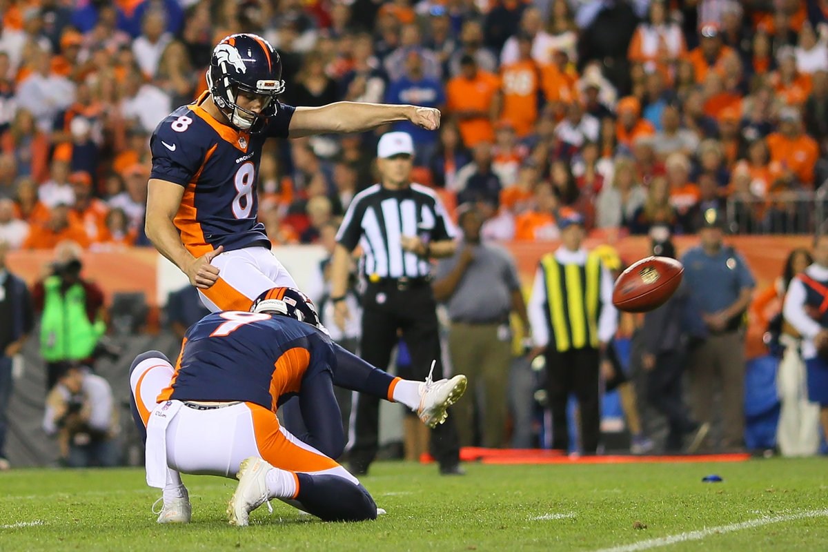 The field goal is good! 27-9 Broncos! Photo Credit:Getty Images WeAreBroncos