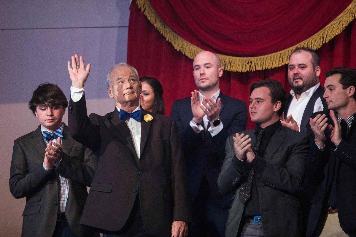 Legendary funnyman Bill Murray receives Mark Twain Prize for American Humor
