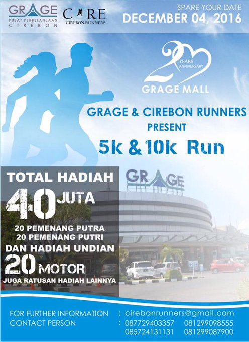 Grage Cirebon Run ∙ 2016