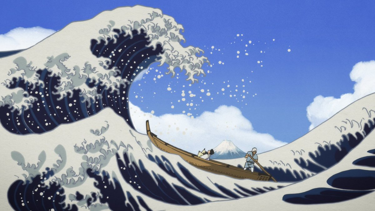 'Miss Hokusai': An artist wields her brush in a new Keiichi Hara anime masterpiece