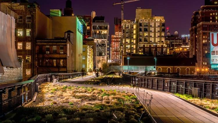 Tomorrow is the last day for stargazing on the High Line
