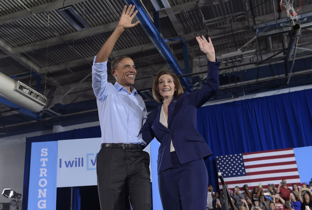 Obama helping Democrats in close Senate, House races