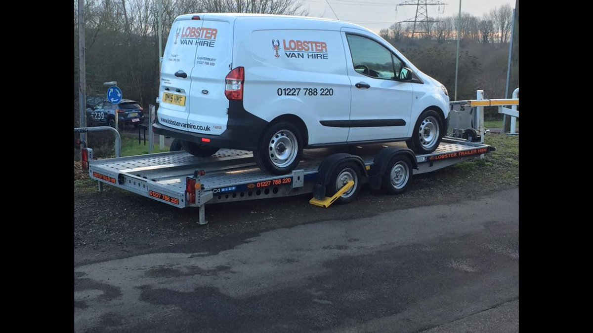 Lobster Van Hire On Twitter Need A Car Transporter Trailer Hire