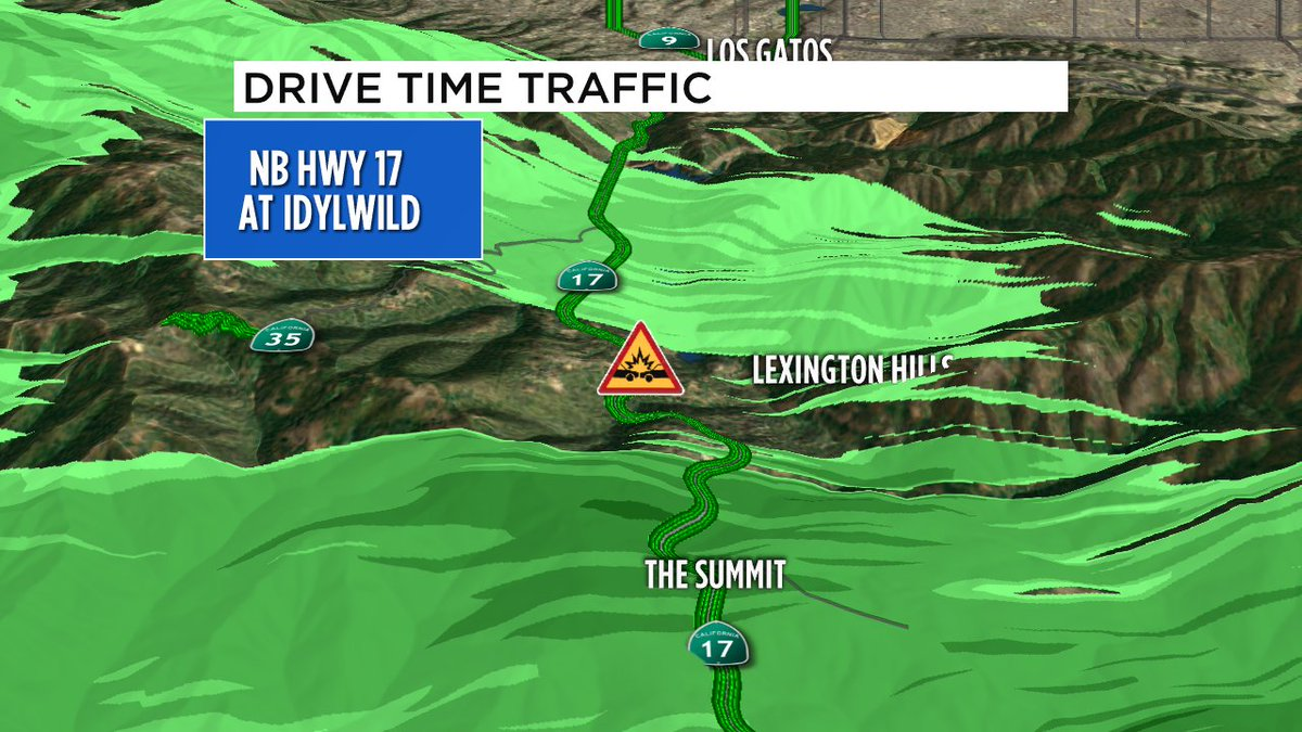 New crash on NB 17 north of The Summit. Vehicle facing the wrong way in the far right lane.