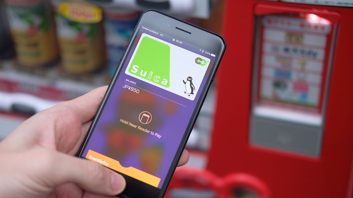 Apple Pay is live in Japan and works on public transport