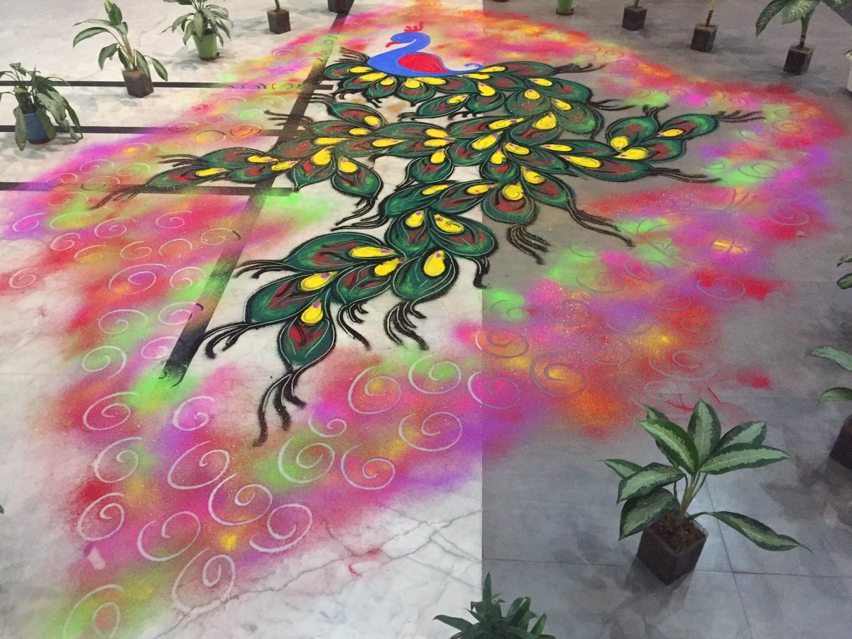 Beautiful Rangoli Designs for Diwali  IMAGES, GIF, ANIMATED GIF, WALLPAPER, STICKER FOR WHATSAPP & FACEBOOK