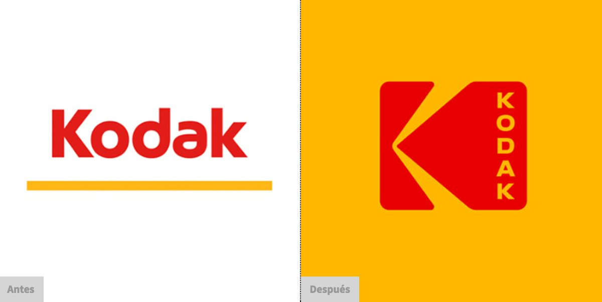 Kodak recupera su mítico #logo en su último rediseño.   https://t.co/0m2BgGbNUm  #branding #Packaging https://t.co/DhWCrhMZHI