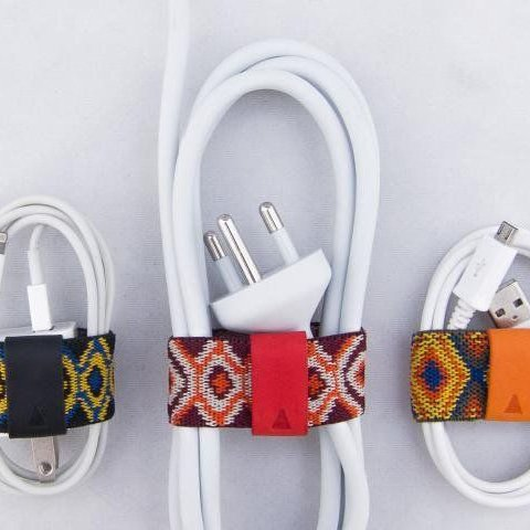 Cable band pattern diy tidy organized