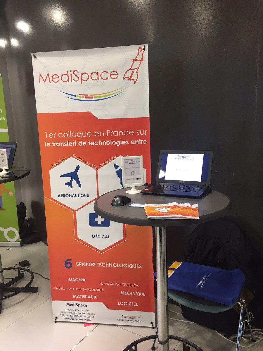Retrouvez #MediSpace le colloque de transferts de technologie #aéronautique #spatial #médical à la @BxSilverHabitat