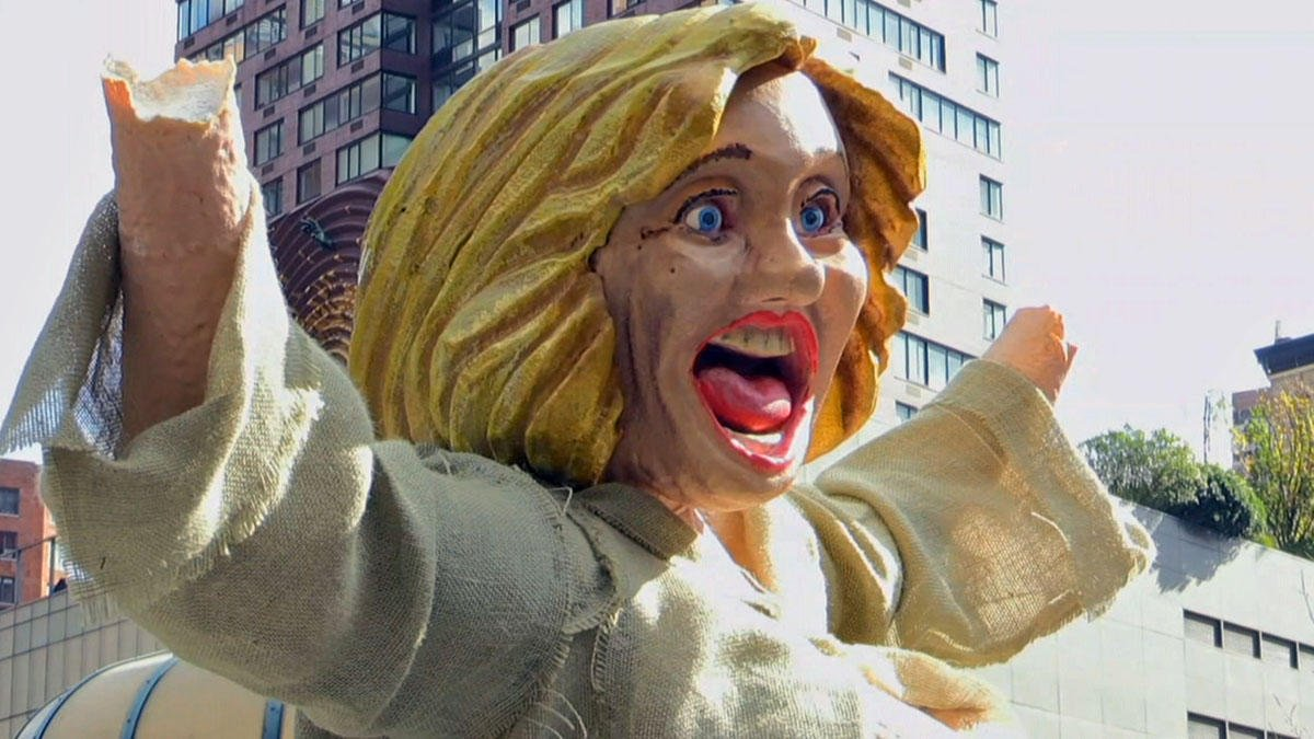 Naked Hillary Clinton statue resurfaces in NYC
