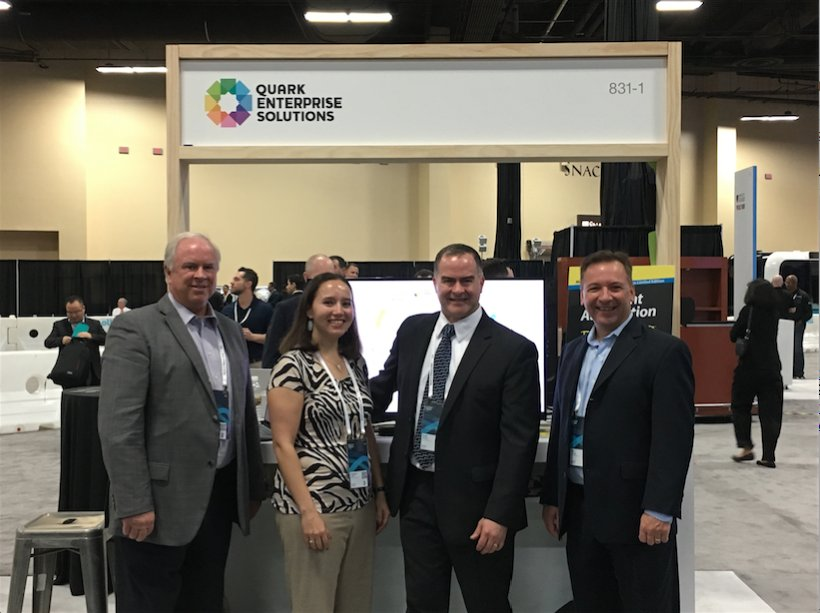 The whole team is at Quark's booth 831-1 near the #IoT Race Track. Join us to chat #contentautomation at #IBMwow! https://t.co/k1GlDO5XgP