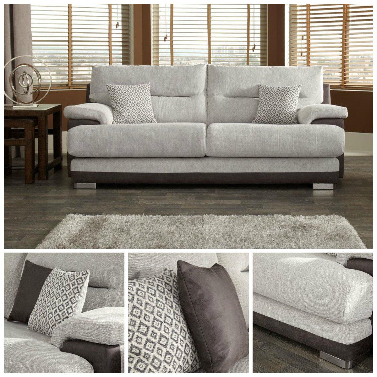 Scs Sofas On Twitter Save 500 This Modern Macie 3 Seater Sofa Now Only 495 Order For Chrismasdelivery Https T Co Hwoiktlqdx