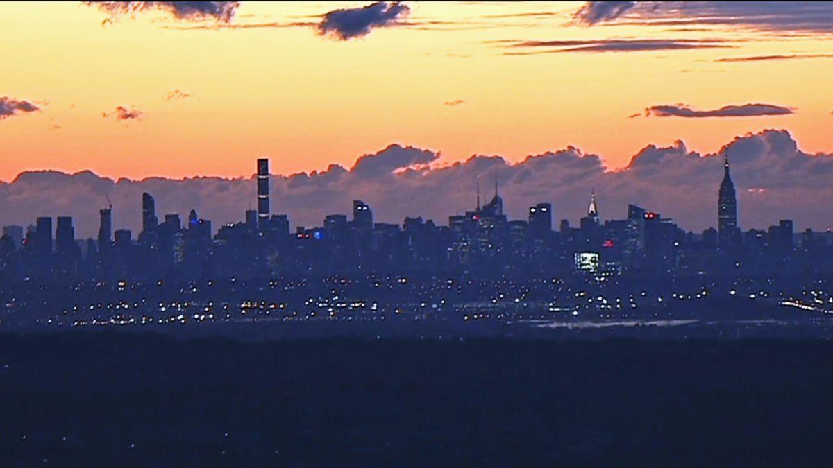 Not a bad view from Chopper 4 this morning. More gorgeous chopper sunrise photos here