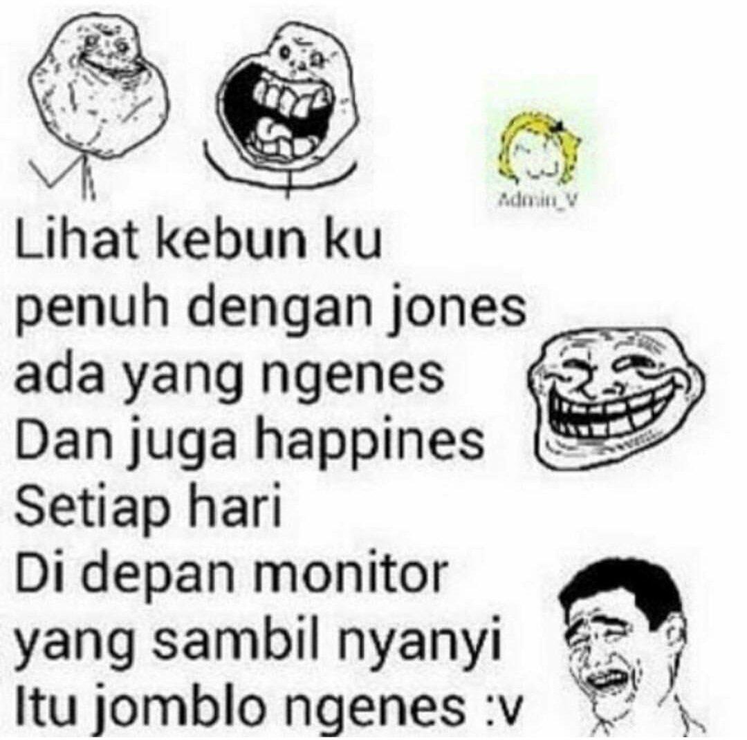 """Meme Ic Indonesia On Twitter """"Jomblo Ngenes V Zon… """""""
