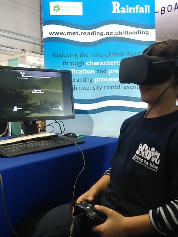 "He can now say #ISurvivedTheFlashFlood. Finding VR #FFIR ""totally amazing"" @nerc #nercintotheblue https://t.co/7UgbVUBKwh"