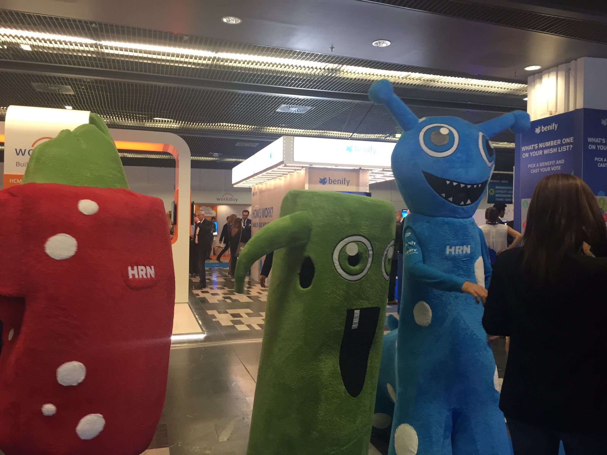 Even the #hrtechworld mascottes are rocking HR at #ngahr https://t.co/MODssGCV3R