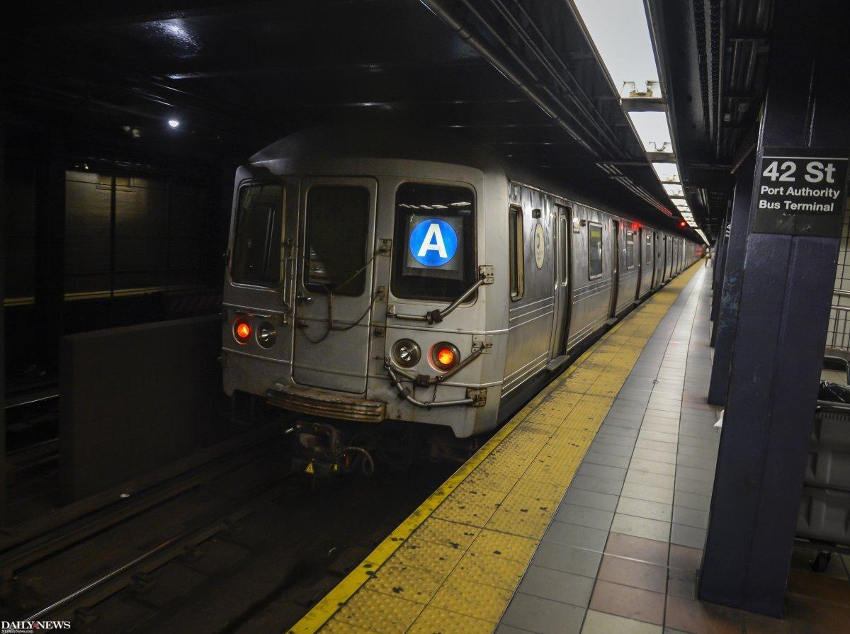 JUST IN: A 16-year-old boy committed suicide by leaping in front of a Midtown subway train