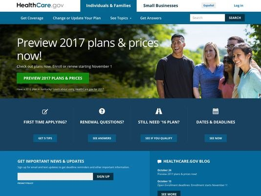 Some Obamacare rates rise 25% as opens for shopping