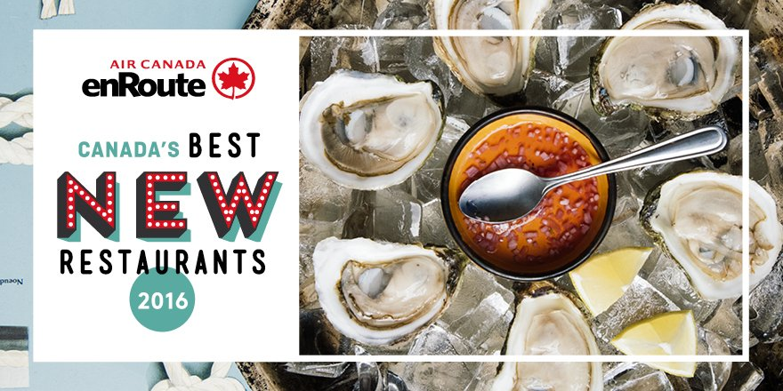 Canada's Best New Restaurants: the Top 10 list out now!. See it here: https://t.co/PAU4wP4JcU #enRouteTop10 https://t.co/q8YvRdvqnZ