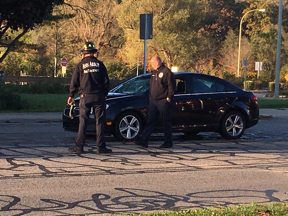 Ann Arbor student hit and killed while walking to school this morning on Fuller Rd.