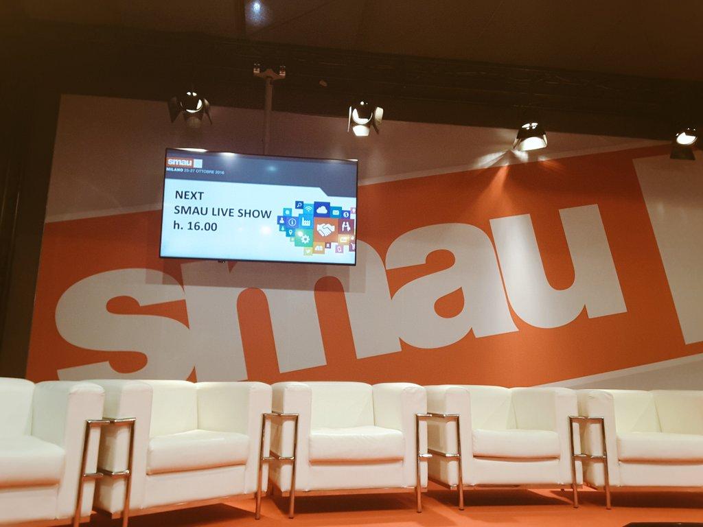 L'agrifood tra nuove tecnologie e innovazione. Ne parliamo fra pochissimo nel #mainstage di @smaunotes https://t.co/b1fue08XAp