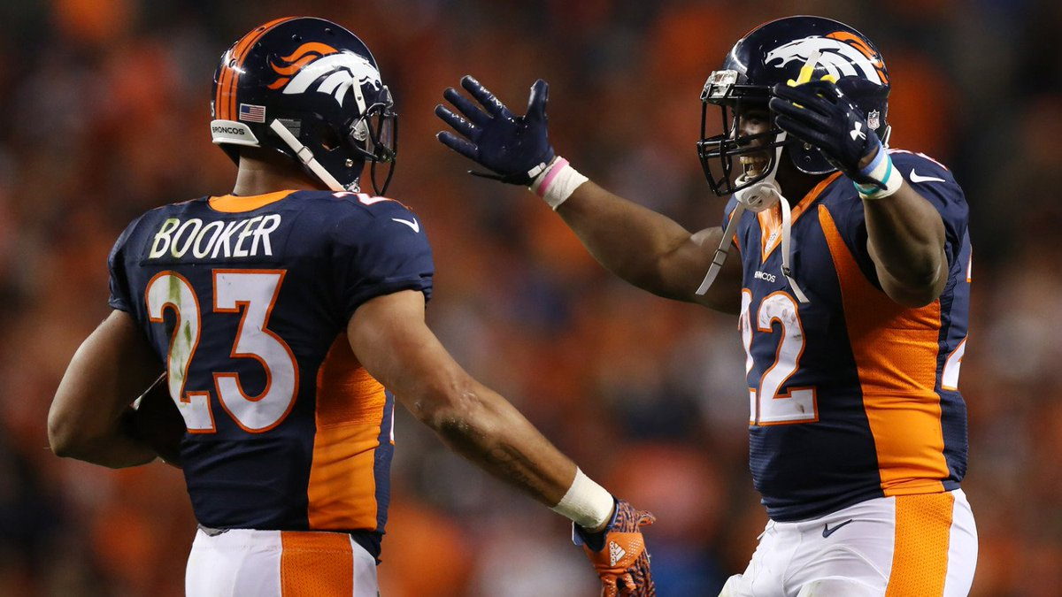 Broncos Unveil 1-2 Punch At Running Back With Anderson, Booker