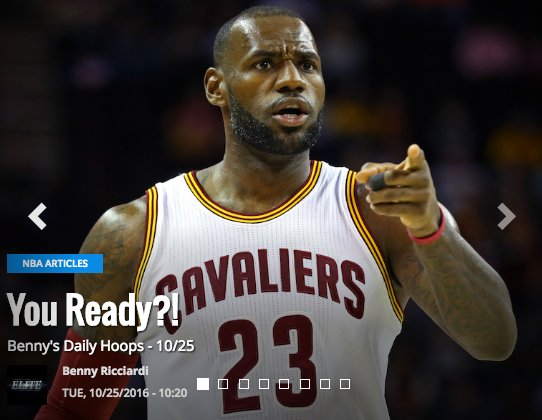 Hope you're ready for regular season NBA DFS, because we are!! It's @bennyr11's Daily Hoops for opening night! http://www.fantasyguruelite.com/basketball/articles/bennys-daily-hoops-1025…