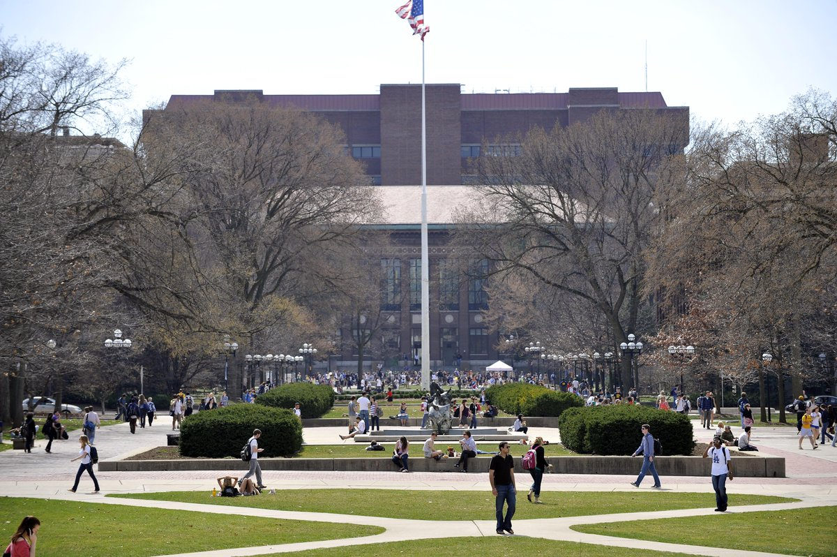 Sexual misconduct reports at UMich drop 9%.