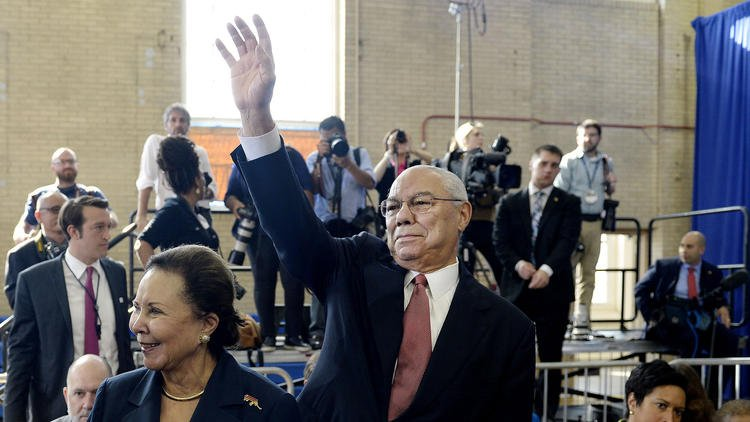 Colin Powell is the latest former Bush official to say he's voting for Hillary Clinton