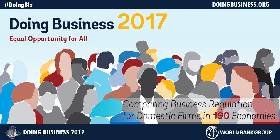 Image result for world bank doing business 2017