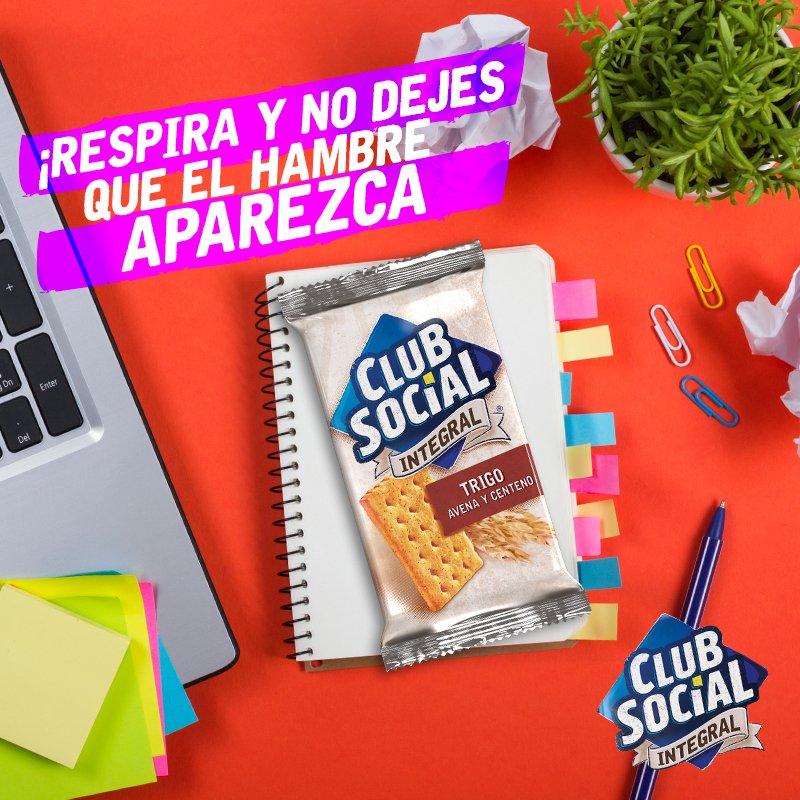 ¡Toma una pausa! Y disfruta de Club Social #IntegralmenteDelicioso. https://t.co/3bpp0CQ51c