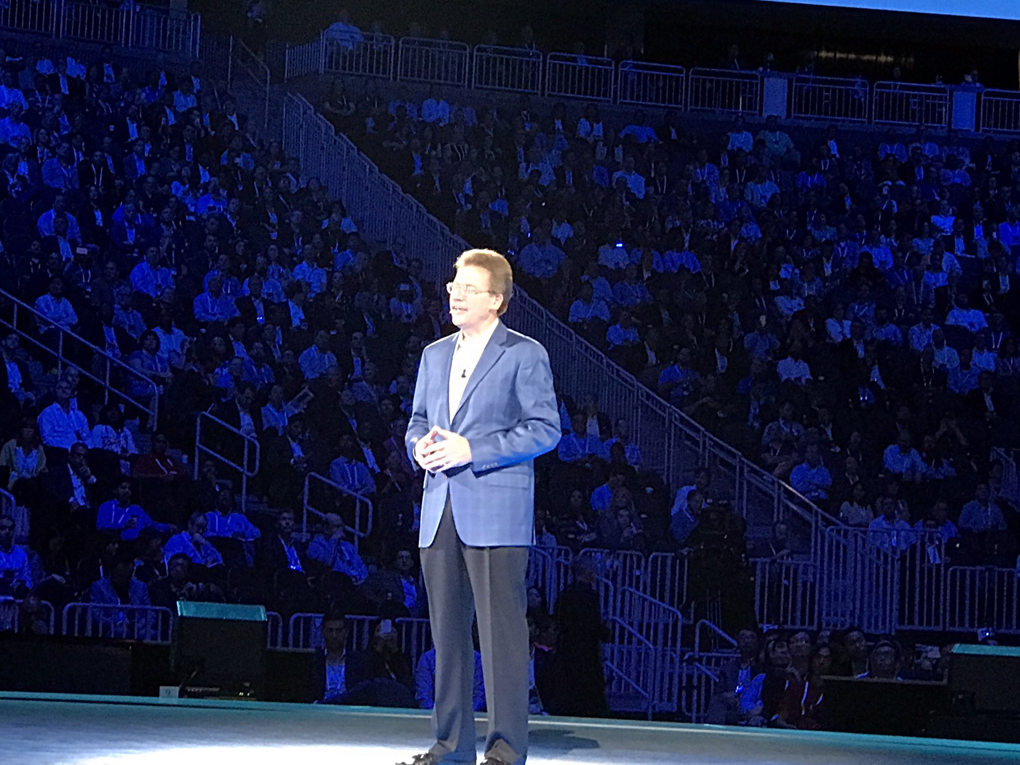 #IBM's John Kelly III believes most medical professionals will be using tools like #IBMWatson to provide care soon. I agree. #ibmwow #ai https://t.co/8QoVQbDlQZ
