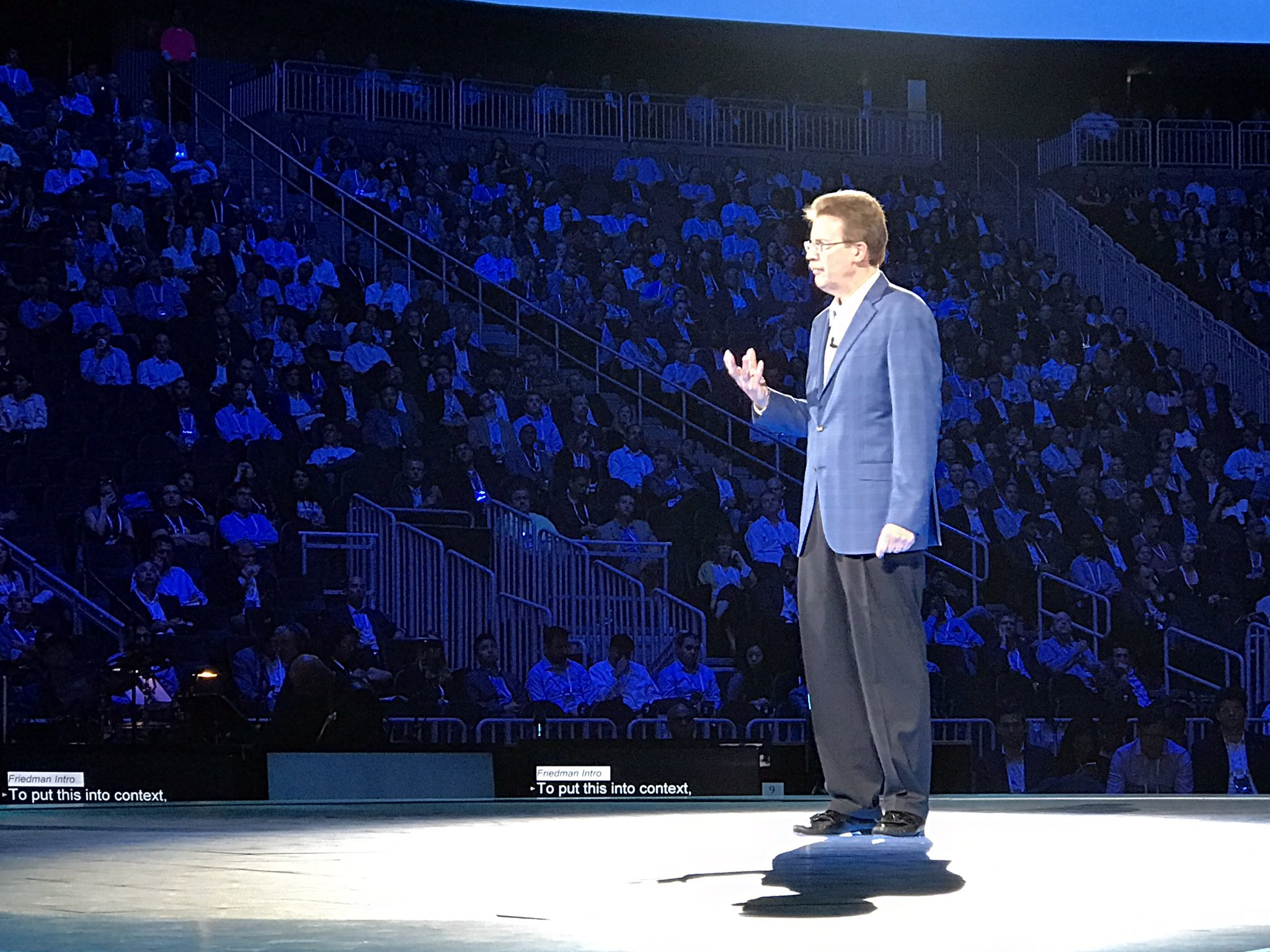John Kelly predicts there will no longer be business decisions or acquisitions made without considering AI and cognitive computing #ibmwow https://t.co/E3SszXWzO1