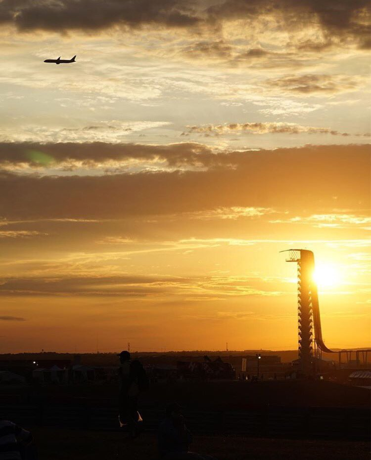 A record 269,889 people attended @F1 at @circuitamericas this year! (by @wakes2slopes)
