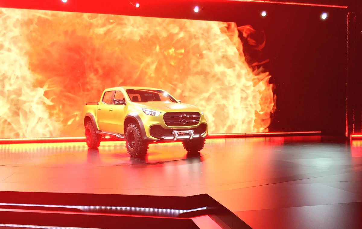Work hard and play hard: The Concept X-Class #MBPickup https://t.co/fIQBuVy7Q8