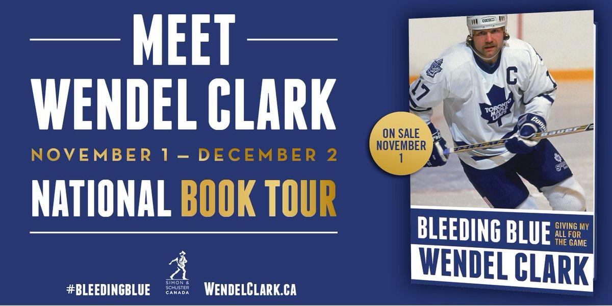 Wendel Clark Book Tour
