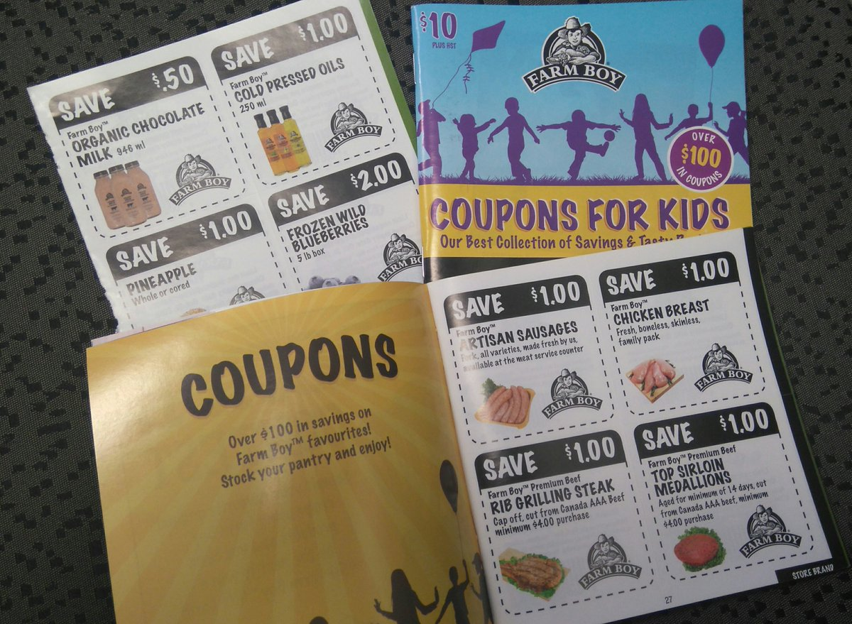farm boy on twitter if you bought a charity coupon book last year in support of local hospital foundations just a reminder the coupons expire on oct 31