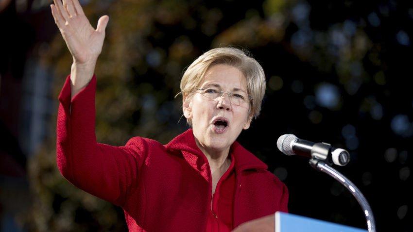 Elizabeth Warren has no time for your Curt Schilling questions