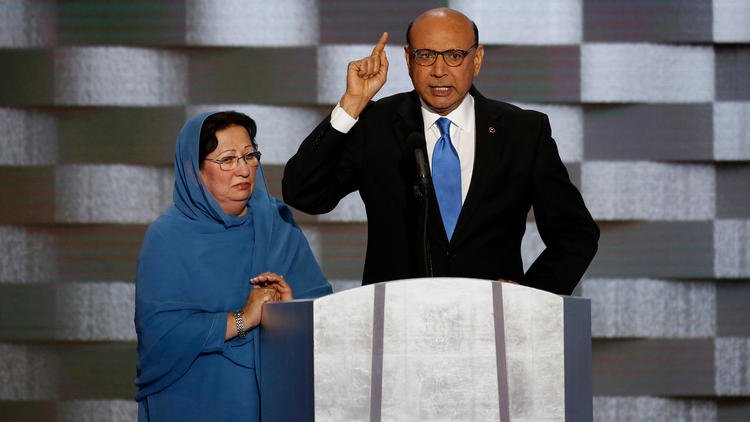 Gold Star father Khizr Khan is hitting the trail for Hillary Clinton in Virginia