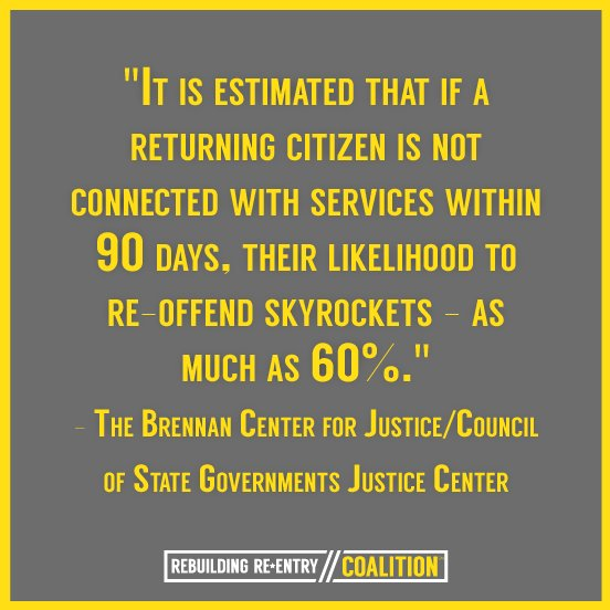 The first 90 days are of the utmost importance for #returningcitizens. Let's #supportRCs #TechandCjReform https://t.co/LmMAjEfVan https://t.co/nTSObny5W2