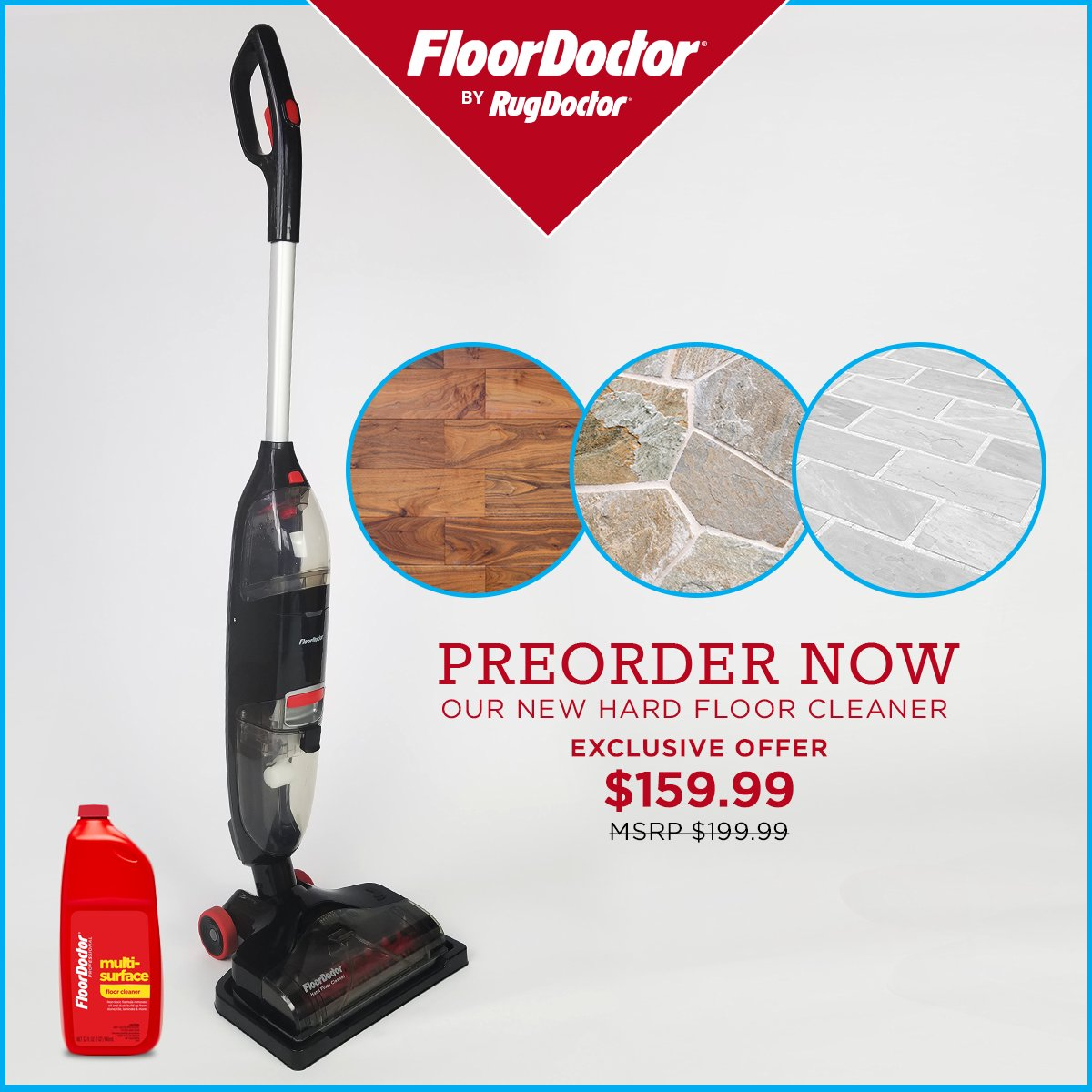 Rug Doctor On Twitter Pre Order The Floor Hard Cleaner Now And Deep Clean Wood Tile Laminate Stone Floors Https T Co 6mtkdfg39k
